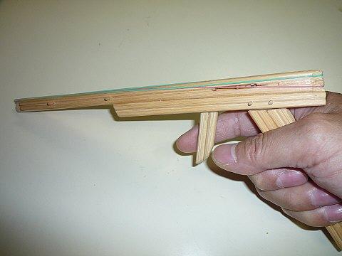 ガトリング 割り箸 鉄砲