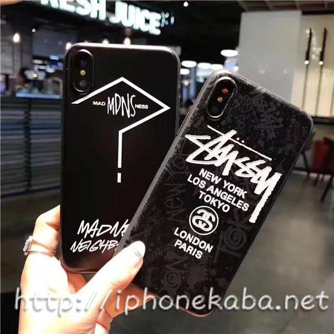 5e59d1684b6d ユニークなブランド名が彫られているのイニシャル設計な Stussy アイフォン8 ケース アイフォン10 携帯カバー、個性的で大人気。洗錬されたデザイン、20代若い子が  ...