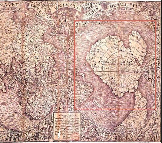 オロンティウス・フィネウスの南極地図 | オーパーツ (OOPARTS) 道場 ...